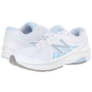 $99 NEW BALANCE 847V2 White Blue Walking Shoes 12